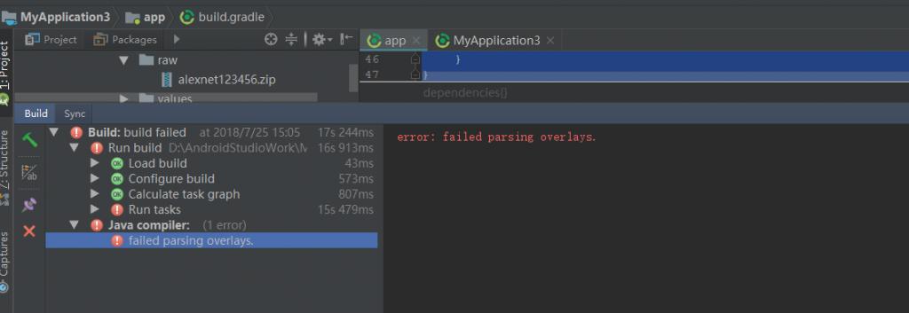 解决AAPT2 error: check logs for details问题 – 魅力程序猿